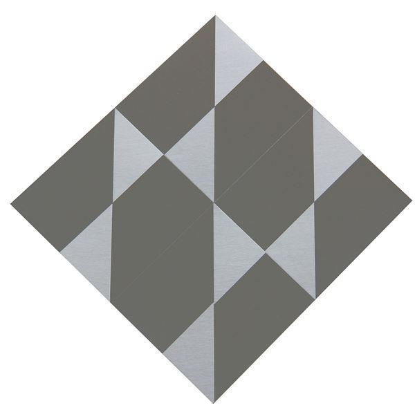 Getulio ALVIANI - Superficie a triangoli satinati