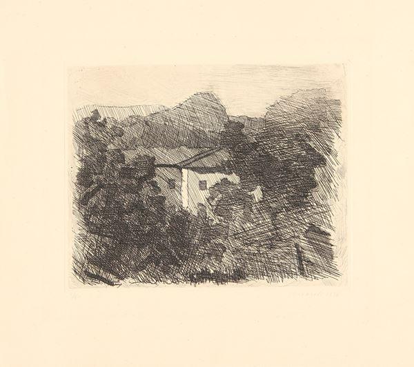 Giorgio MORANDI - Paesaggio di Roffeno